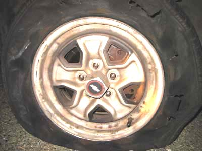 Tire Places Open On Sunday >> Tire Blowout Fun! - Ellis.FYI