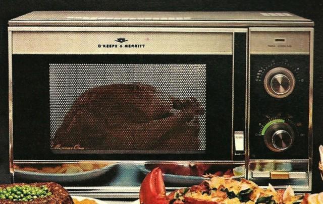 1970s O'Keefe & Merritt Microwave