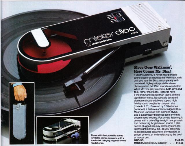 Markline Catalog: Mr. Disc
