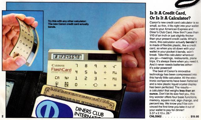 Markline Catalog: credit card calculator