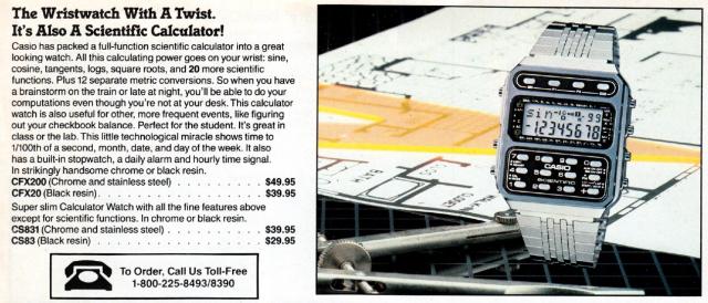 Markline Catalog: wristwatch calculator