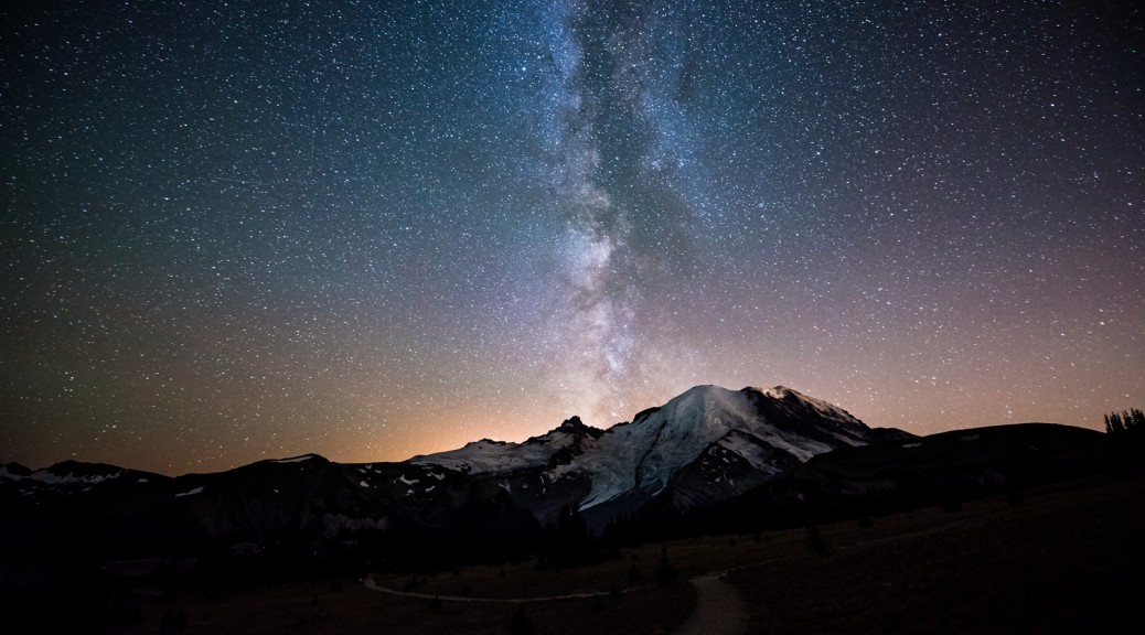 Milky-Way-over-Rainier-by-Keith