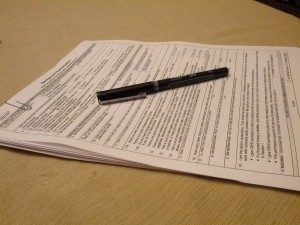 Paperwork!