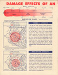 """DAMAGE EFFECTS OF AN ATOM BOMB EXPLOSION"""