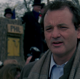 Well, it's Groundhog Day… again.